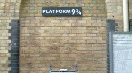 Plataforma 9 y 3/4 será movida en Septiembre