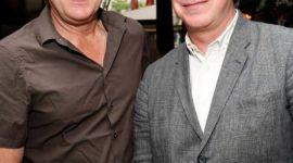 Alan Rickman celebra el estreno de 'Bottle Shock'