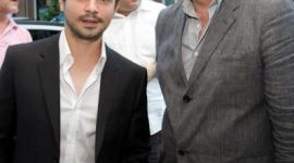 Alan Rickman asiste a Proyección Especial de 'Bottle Shock' en New York
