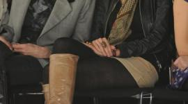 Imágenes de Emma, Bonnie, y Katie en la Semana de la Moda de Londres