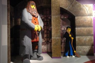 'Legoland' Inaugura Exposición con Increíbles Figuras de Harry Potter y Rubeus Hagrid