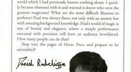 Ilusionista Paul Kieve Habla de su Trabajo en 'Harry Potter y el Prisionero de Azkaban'