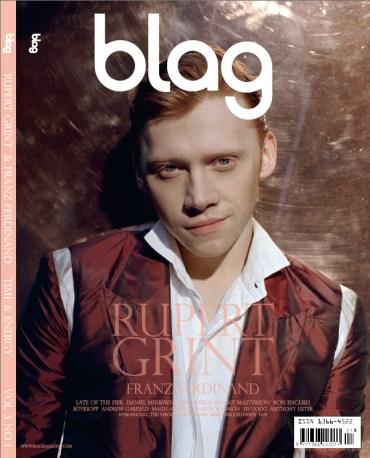 Rupert Grint, en Nueva Portada y Sesión Fotográfica de la Revista 'Blag'