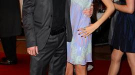 Bonnie Wright y Tom Felton Asisten a la Premier de '17 Again' en Londres