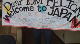 Tom Felton Llega a Japón para Promocionar 'El Misterio del Príncipe'