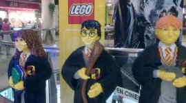 Legos Gigantes de Harry Potter en Asturias