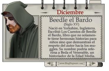 Beedle el Bardo – Mago del Mes Diciembre
