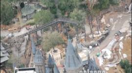 Nuevas Imágenes Aéreas del Parque Temático de 'Harry Potter'