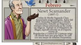 Newt Scamander – Mago del Mes Febrero