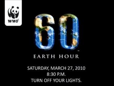 RECORDADORA: Hoy a las 8:30pm Apaga la Luz y Haz Parte de 'La Hora del Planeta'!