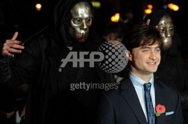 Fotografías de Daniel Radcliffe en la Premiere de HP7-1 en Londres