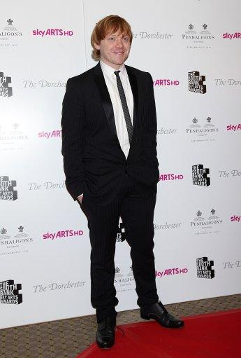 Rupert Grint y Richard Griffiths Asisten a los 'South Bank Sky Arts Awards'