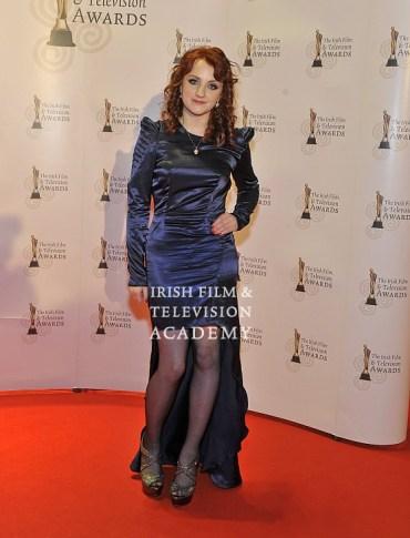 Evanna Lynch y Brendan Gleeson Asisten a los 'Irish Film & Television Awards'