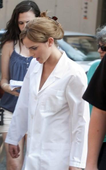 Nuevas Imágenes detrás de Cámaras de Emma Watson en la Cinta 'The Perks of Being a Wallflower'
