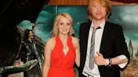 Evanna, Domnhall, James & Oliver Asisten a la Premiere de 'Las Reliquias de la Muerte II' en Irlanda