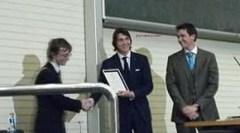 James y Oliver Phelps Reciben Membresía Honoraria en la UCD de Dublin