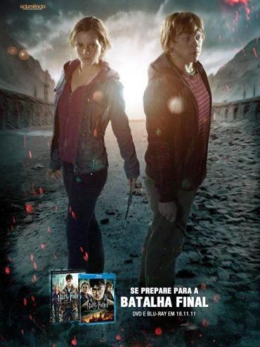 Nuevos Posters de 'Las Reliquias de la Muerte, II' en la Promoción del DVD/Blu-ray para Brasil
