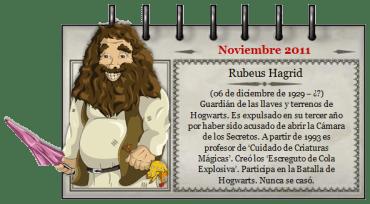 'Mago del Mes' – Noviembre 2011