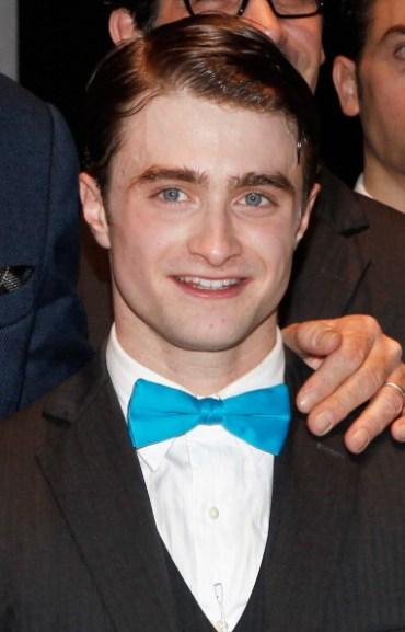 Daniel Radcliffe, en la Celebración del Show No. 250 de 'How to Succeed in Business'