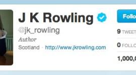 JKR Ya No se Describe como «Autora para Niños» en su Cuenta de 'Twitter'