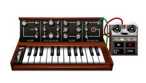 'Hedwig's Theme' del Compositor John Williams, Creada con el 'Doodle' de Robert Moog