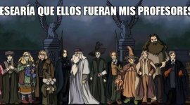 Si tus profesores fuesen como los de Hogwarts…