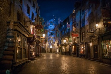 Los muggles disfrutaron de un fin de semana mágico en el callejón Diagon