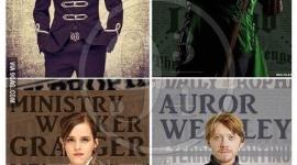 Harry, Ron, Hermione y Ginny Adultos, ¿Cómo Lucirían?