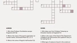 «Truco» de Pottermore: Descubre la Palabra Oculta en un Crucigrama Mágico