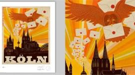 MinaLima Revela Nueva Pieza de Arte Ilustrado para 'Harry Potter: La Exhibición' en Alemania