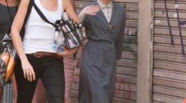 Fotografías de Emma Watson Filmando 'Colonia Dignidad' en Argentina