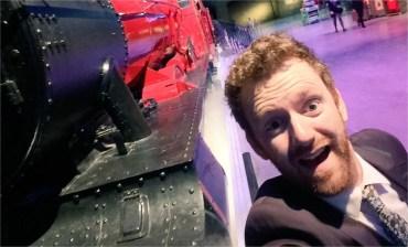 Chris Rankin y la Presentación Preliminar del Expreso de Hogwarts en el Tour de Harry Potter