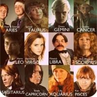 Harry Potter y los Signos del Zodiaco
