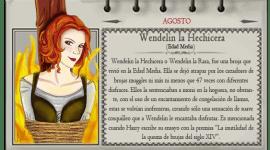 Wendelin la Hechicera – Mago del Mes Agosto