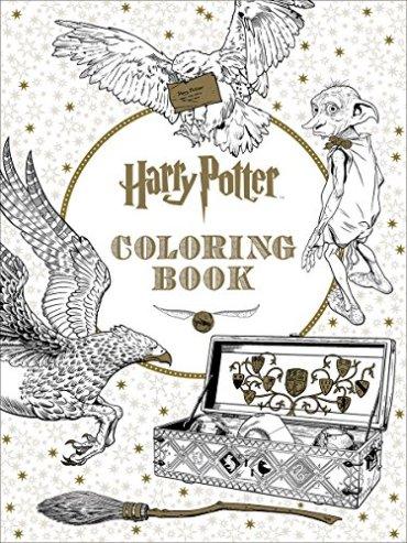 Primer libro de colorear oficial de Harry Potter saldrá en noviembre