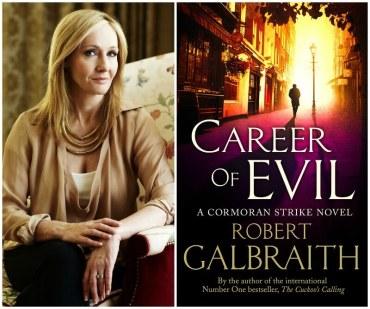 Ya está a la venta Career of Evil, el nuevo libro de J.K Rowling