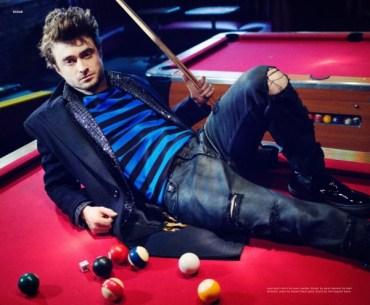 Sesión de fotos de Daniel Radcliffe para Nylon magazine