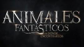 El logo oficial de Animales Fantásticos y Dónde Encontrarlos