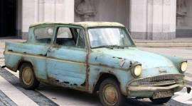 Liam Payne compró el Ford Anglia volador