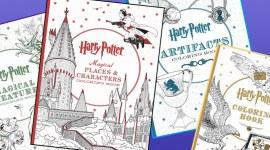 Scholastic publicará otros 3 libros para colorear oficiales de Harry Potter