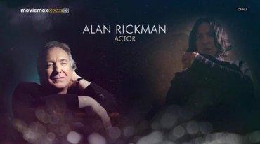 Video: Homenaje a Alan Rickman en los Premios Oscar