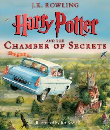 Primeras imágenes de Harry Potter y la Cámara Secreta: edición ilustrada