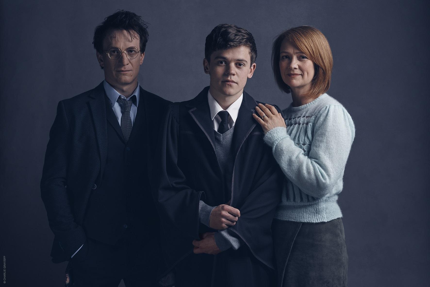 Harry, Ginny y Albus Severus Potter en 'The Cursed Child'