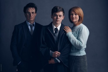 Primera Fotografía de Harry, Ginny y Albus Severus Potter en 'The Cursed Child'