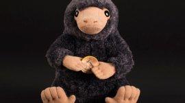 Compra un hermoso peluche Niffler de 'Animales Fantásticos'