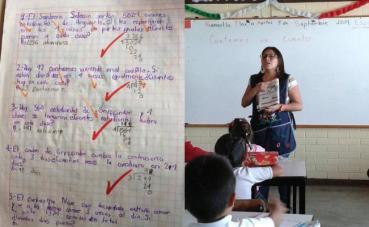 En una escuela de Tlaxcala, México, se aprende matemáticas, inglés y comprensión de lectura con Harry Potter