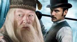 Actor de Albus Dumbledore en 'Animales Fantásticos' rueda escenas en Hogwarts
