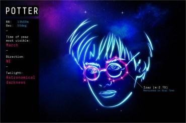 Nuevo proyecto busca establecer una constelación de Harry Potter