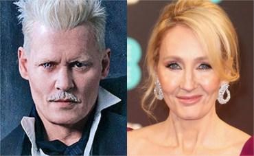 JK Rowling bloquea en Twitter a quienes critican a Johnny Depp en 'Animales Fantásticos'