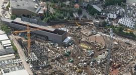 Primer vistazo: construcción de la nueva montaña rusa en el parque de Harry Potter en Orlando